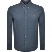 Ralph Lauren Featherweight Mesh Shirt Blue