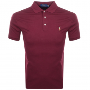 Product Image for Ralph Lauren Pima Polo T Shirt Burgundy