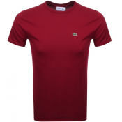 Product Image for Lacoste Crew Neck T Shirt Red