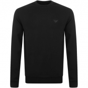 Product Image for Emporio Armani Crew Neck Sweatshirt Black