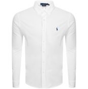 Product Image for Ralph Lauren Featherweight Mesh Shirt White