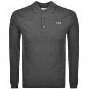 Product Image for Lacoste Sport Long Sleeved Polo T Shirt Grey