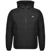 Product Image for Lacoste Sport Hooded Jacket Black