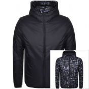 Emporio Armani Reversible Down Jacket Navy