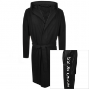 Product Image for BOSS HUGO BOSS Identity Bath Robe Black