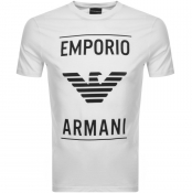 Product Image for Emporio Armani Crew Neck T Shirt White