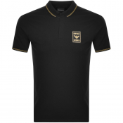 Product Image for Emporio Armani Short Sleeved Polo T Shirt Black