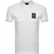 Product Image for Emporio Armani Short Sleeved Polo T Shirt White