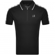 Product Image for Armani Exchange Short Sleeved Polo T Shirt Black