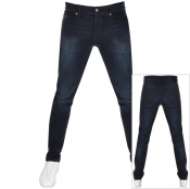 BOSS Casual Delaware Slim Fit Jeans Navy