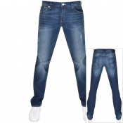 Armani Exchange J16 Straight Fit Jeans Blue