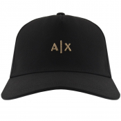Product Image for Armani Exchange logo Baseball Cap Black