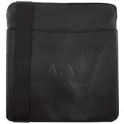Product Image for Armani Exchange Logo Messenger Bag Black