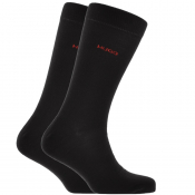 Product Image for HUGO Logo Socks Black