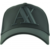 Armani Exchange Logo Cap Green