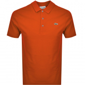 Lacoste Sport Polo T Shirt Orange