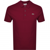 Lacoste Sport Polo T Shirt Red