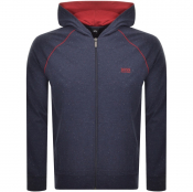 Product Image for BOSS HUGO BOSS Full Zip Hoodie Navy