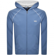 Product Image for BOSS HUGO BOSS Full Zip Hoodie Blue