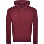 Product Image for BOSS HUGO BOSS Towelling Hoodie Burgundy