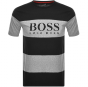 Product Image for BOSS HUGO BOSS Tiburt Logo T Shirt Black