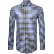 BOSS HUGO BOSS Slim Fit Jason Shirt Blue