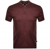 Product Image for BOSS HUGO BOSS Phillipson 60 Polo T Shirt Burgundy