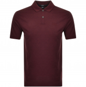BOSS HUGO BOSS Pallas Polo T Shirt Burgundy