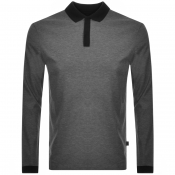 Product Image for BOSS HUGO BOSS Pittman Long Sleeved Polo Grey