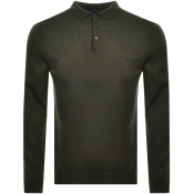 Product Image for BOSS HUGO BOSS Bono Polo Knit Jumper Green
