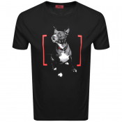 HUGO Duppy T Shirt Black