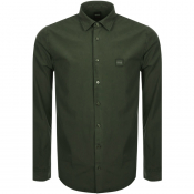BOSS Casual Mypop Shirt Green