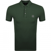 BOSS Casual Passenger Polo T Shirt Khaki
