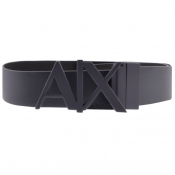 Armani Exchange Reversible Belt Navy