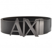 Armani Exchange Reversible Belt Black