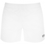 BOSS HUGO BOSS Perch Swim Shorts White