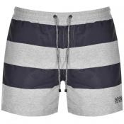BOSS HUGO BOSS Sandbar Shark Swim Shorts Grey