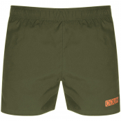HUGO Kuba Swim Shorts Khaki