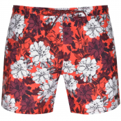 BOSS HUGO BOSS Piranha Swim Shorts Red