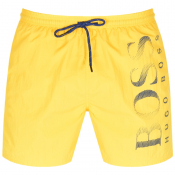 BOSS HUGO BOSS Octopus Swim Shorts Yellow