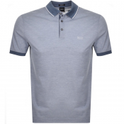 BOSS HUGO BOSS Prout Polo T Shirt Blue