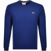 Product Image for Lacoste Sport Crew Neck Sweatshirt Blue