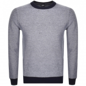 Product Image for BOSS Casual Akanicos Knit Jumper Navy
