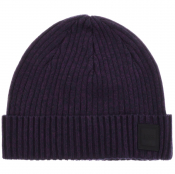 Product Image for BOSS Casual Areffeno Beanie Hat Blue