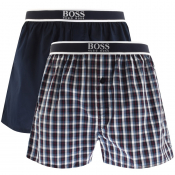 BOSS HUGO BOSS Underwear Two Pack Boxer Shorts