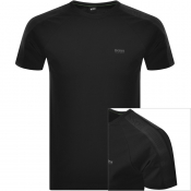 BOSS Athleisure Tee 7 T Shirt Black