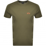 BOSS Athleisure Tee T Shirt Khaki
