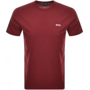 BOSS Athleisure Tee T Shirt Burgundy