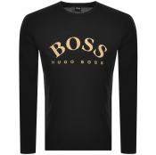 Product Image for BOSS Athleisure Long Sleeved Togn 1 T Shirt Black