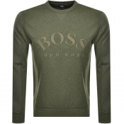 Product Image for BOSS Athleisure Salbo Sweatshirt Khaki